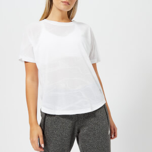 adidas Women's Aeroknit Short Sleeve T-Shirt - White