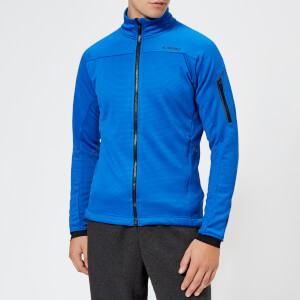 adidas Men's Terrex Stockhorn Fleece Jacket - Blue Beauty