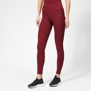 adidas Women's Ultimate High Waist Tights - Noble Maroon