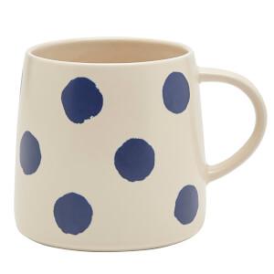 Joules Stoneware Mug - French Navy Spot