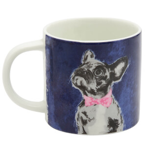 Joules Porcelain Mug - Bow Tie French Bulldog