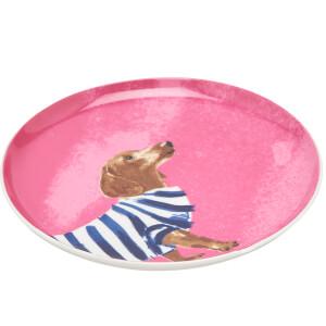 Joules Side Plate - Daschund