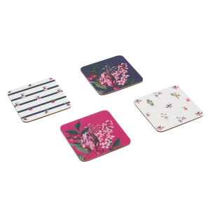 Joules Coasters - Artichoke Floral (Set of 4)
