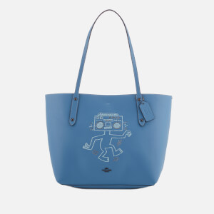 Coach Women's X Keith Haring Market Tote Bag - Sky Blue