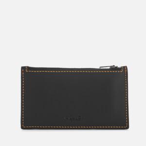 Coach Women's Zip Card Case - Black