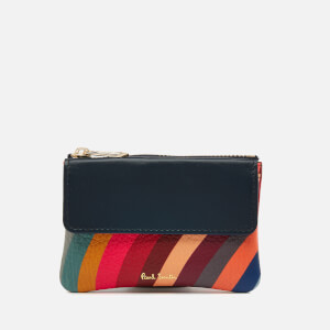 Paul Smith Women's Small Zip Pouch Purse - Multi