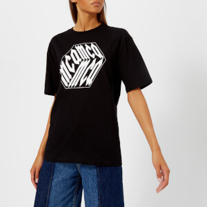 McQ Alexander McQueen Women's Boyfriend T-Shirt - Darkest Black