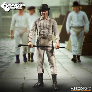 Figurine Alex Orange Mécanique Mezco 30 cm