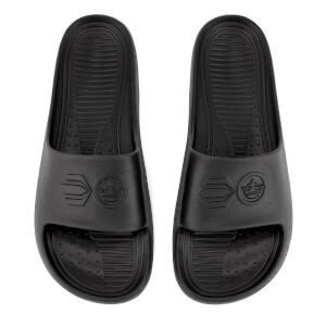 Crosshatch Men's Oreti Sliders - Black