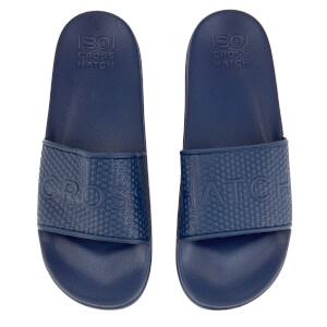 Crosshatch Men's Tulum Sliders - Estate Blue