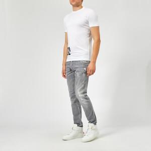 Dsquared2 Men's Hem Logo T-Shirt - White: Image 3
