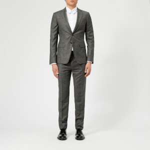 Dsquared2 Men's Salt and Pepper Wool Manchester Fit 2 Button Suit - Grey