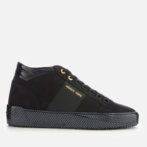Android Homme Men's Propulsion Mid Leather Trainers - Black