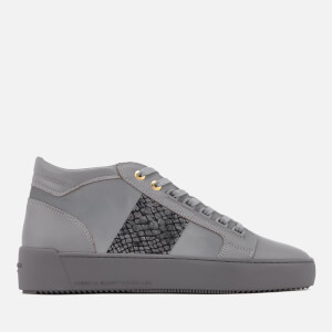 Android Homme Men's Propulsion Mid Suede/Nubuck Trainers - Grey
