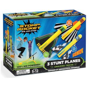 Stomp Rocket Stunt Planes (3 Planes)