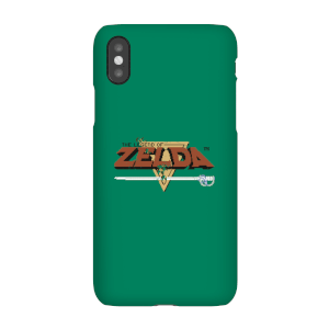Coque Nintendo The Legend Of Zelda - Logo Rétro