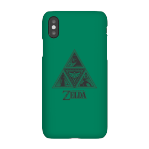 Nintendo The Legend Of Zelda Triforce Phone Case