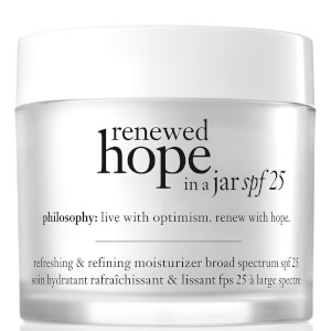 Soin Hydratant SPF 25 Renewed Hope in a Jar philosophy 60 ml