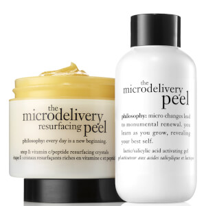 philosophy Microdelivery In-Home Vitamin C Peptide Peel dwuetapowy peeling do twarzy z witaminą C 120 ml