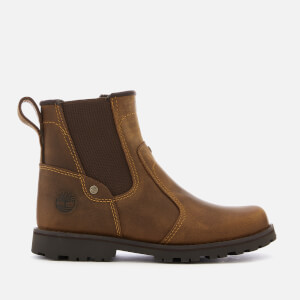 Timberland Kids' Asphalt Trail Leather Chelsea Boots - Brown