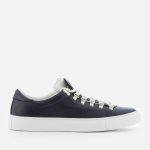 Diemme Men's Marostica Low Leather Trainers - Navy