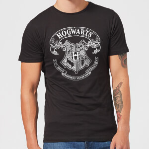 Harry Potter Hogwarts Crest T-shirt - Zwart