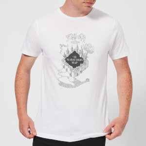 Harry Potter The Marauder's Map Herren T-Shirt - Weiß