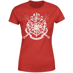 Harry Potter Hogwarts House Crest Women's T-Shirt - Red