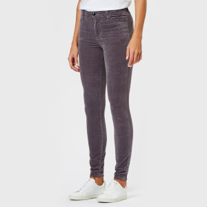 J Brand Women's Maria High Rise Skinny Jeans - Dark Whistle