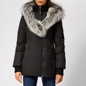 Mackage Women's Priya Lux Down Coat - Black/Silver