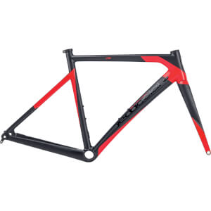 Dedacciai Vertigine Disc Frameset - Black/Red