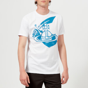 Vivienne Westwood Anglomania Men's Boxy Logo T-Shirt - White