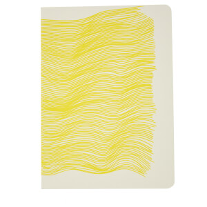HAY Wavy Scribble Notebook