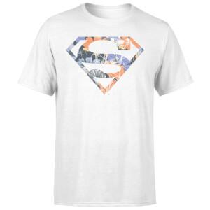 DC Originals Floral Superman Men's T-Shirt - White