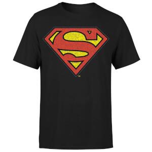 Originals Official Superman Crackle Logo Men's T-Shirt - Black