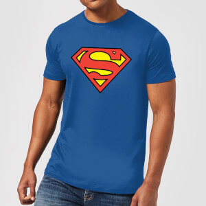 T-Shirt Homme Bouclier Officiel Superman DC Originals - Bleu Roi