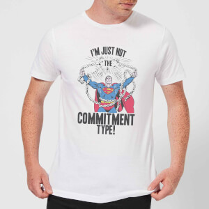 DC Originals Superman Commitment Type T-shirt - Wit