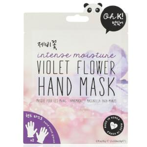 Mascarilla para manos de flor de violeta de Oh K! 20 g