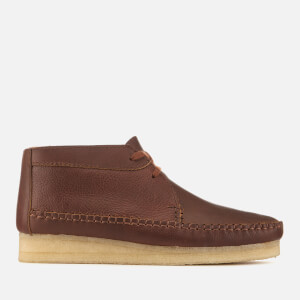 Clarks Originals Men's Weaver Leather Boots - Tan