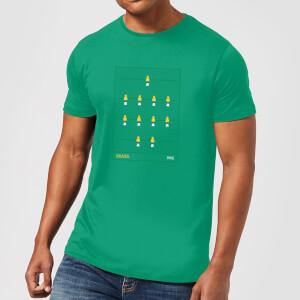 Brazil Fooseball Herren T-Shirt - Grün