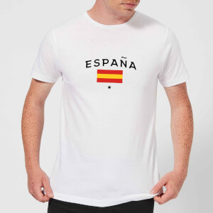 T-Shirt Homme España Football - Blanc