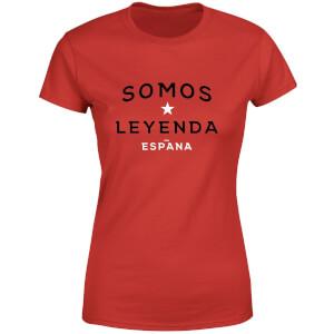Somos Leyenda Women's T-Shirt - Red