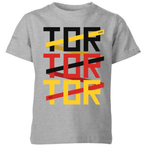 TOR TOR TOR Kids' T-Shirt - Grey from I Want One Of Those
