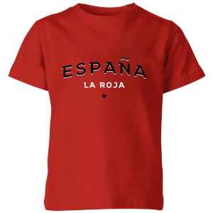 T-Shirt Enfant España La Roja Football - Rouge