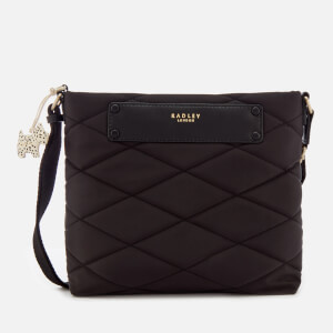 Radley Women's Charleston Medium Cross Body Bag Ziptop - Black