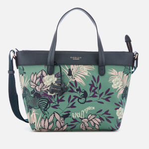 Radley Women's Longleat Palms Medium Multiway Tote Bag - Sage