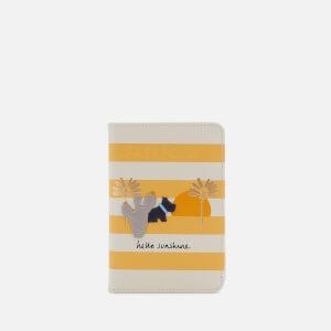 Radley Women's Hello Sunshine Passport Cover - Primrose