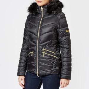 Barbour International Women's Turbo Quilt Jacket - Black