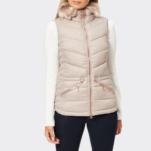 Barbour International Women's Victory Gilet - Latte