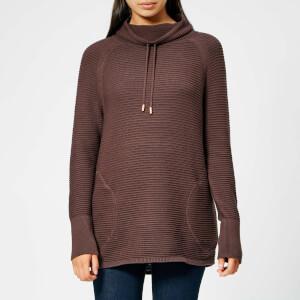 Barbour International Women's Aubern Knitted Jumper - Cocoa